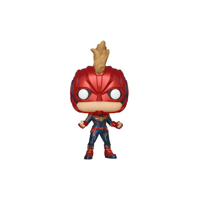 Capitã Marvel Chase Edition Pop Funko #425 - Captain Marvel - Movies - Marvel