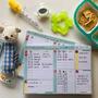 Bloquinho Rotina Do Bebê Cuidados Diarios Organização