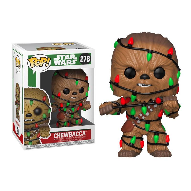 Chewbacca Holiday Pop Funko #278 - Star Wars - Disney