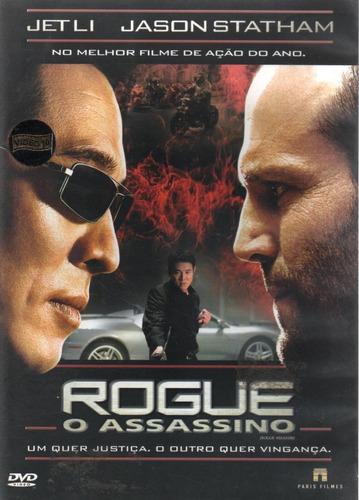 Dvd - Rogue O Assassino - Jetli - Jason Statham - Lacrado Original