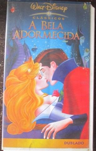 Vhs A Bela Adormecida Dublado Walt Disney Classicos