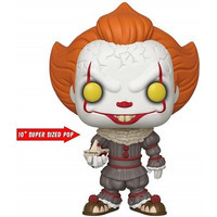 Funko Pop Pennywise with boat #786 Super Sized 25 cm - IT Chapter 2 - A Coisa - Movies