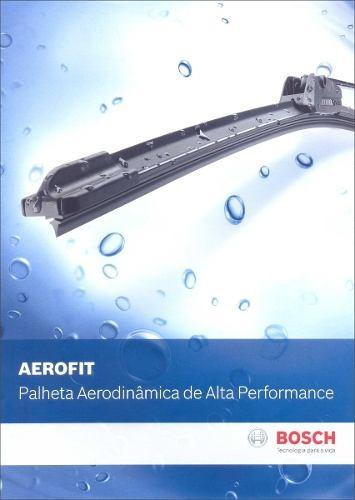 Jogo De Palheta Limpador Bosch Aerofit Toyota Hilux 05/ Original