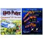 Kit Livro Harry Potter Ilustrados Em Inglês Azkaban E Câmara