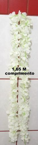 Trepadeira Corrente Hortensia 1,65 M - Branca