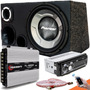 Caixa Trio Sub Pioneer Aparelho Bluetooth Modulo Taramps