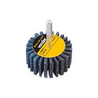 Roda de Lixa 30mm x 20mm com Haste Grão 60 Vonder