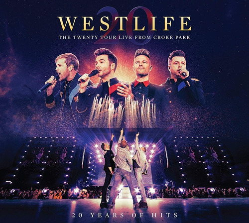 Dvd + Cd Westlife The Twenty Tour Live From Croke Park 2020 Original