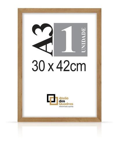 Quadro Moldura A3 30x42 Com Vidro Poster Certificado Foto Original
