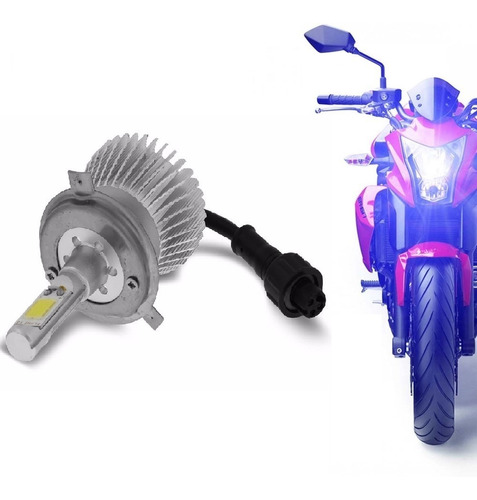 Kit Moto Xenon De Led H4 Cree 3200 Lm Alto E Baixo Farol Led Original