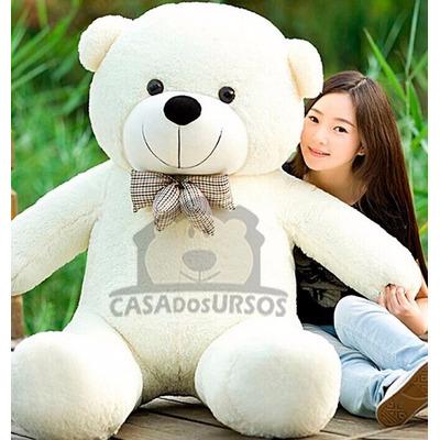 Urso Gigante Grande Otima Pelúcia Macio Teddy Bear 140cm em Curitiba