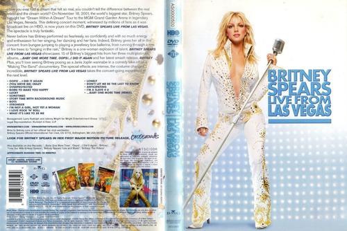 Britney Spears Live From Las Vegas Dvd Lacrado Original