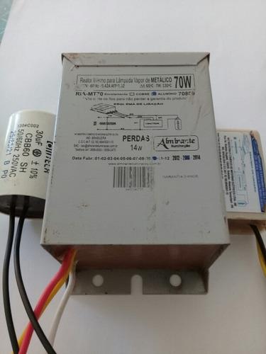 Reator Integrado Interno Lampadavapor Metálico 70w 220v  Afp Original
