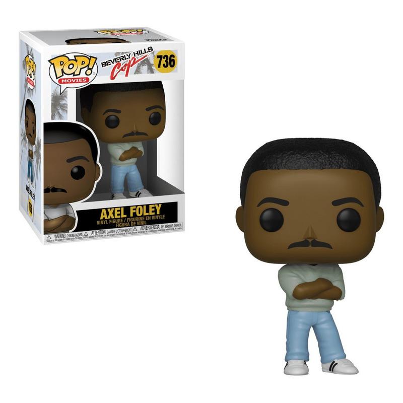 Axel Foley Pop Funko #736 - Beverly Hills Cop - Um Tira da Pesada