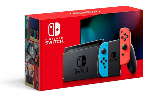 Console Nintendo Switch 32gb Novo Modelo Lacrado Fábrica Original