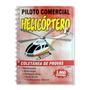 Apostila Piloto Comercial Helicóptero Coletânea De Provas