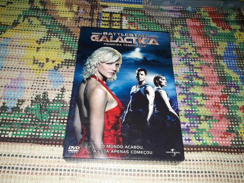 Box Dvd Battlestar Galactica Primeira Temporada Original
