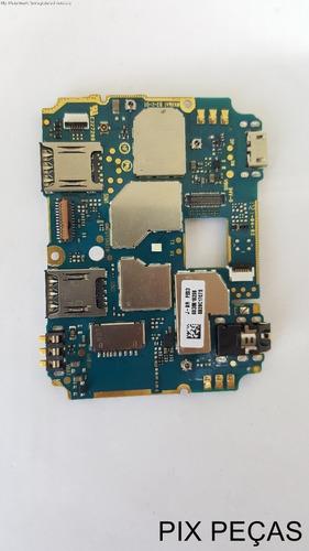 Placa Mãe Principal Moto C Plus Xt1726 Defeito Não Funciona Original