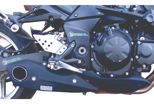 Escapamento Esportivo Willy Made Firetong Kawasak Z 750 Z750 Original