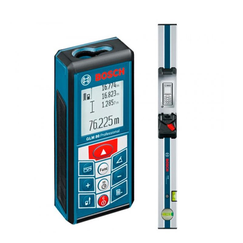 Medidor de Distância à Laser GLM80 + R60 Profissional - Bosch