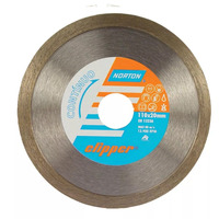 Disco Diamantado Norton Clipper Continuo 110 x 7 x 20mm