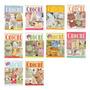 5 Revistas Crochê Banheiros Cozinhas Lote 1