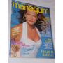 Revista Manequim Janeiro 1990 Nº 361 Modelo Rhonda