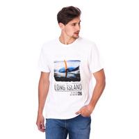 Camiseta Long Island Ocean Branca