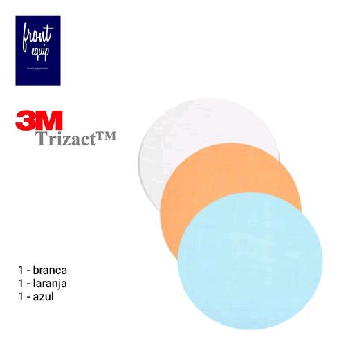 Lixa Polimento Em Vidros Parabrisa Trizact 3m Kit 3 Unid Original