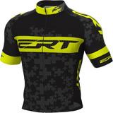 Camisa Ciclismo Mtb Ert Elite Team Amarelo