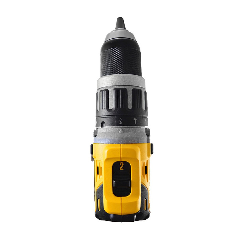 Furadeira e Parafusadeira de Impacto à Bateria Dewalt 1/2 13mm - DCD796D2 110V