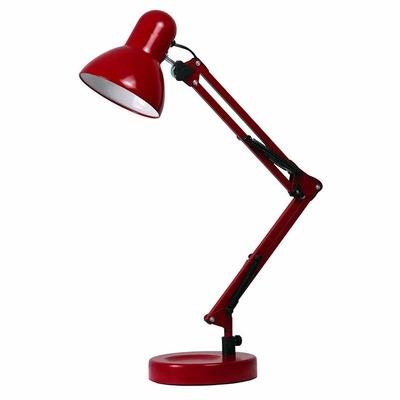 Encontre Luminária de Mesa Base P/ Escritório Estudo Leitura Vermelha. Melhores Ofertas em Luminárias é na danielEletro. Especializada em Iluminação!