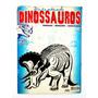 Revista Antiga E Usada Desenhando Dinossauro 01