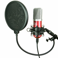 Kit Arcano Mic Condensador Usb Ga Red + 1 Pedestal + 1 Am-f1