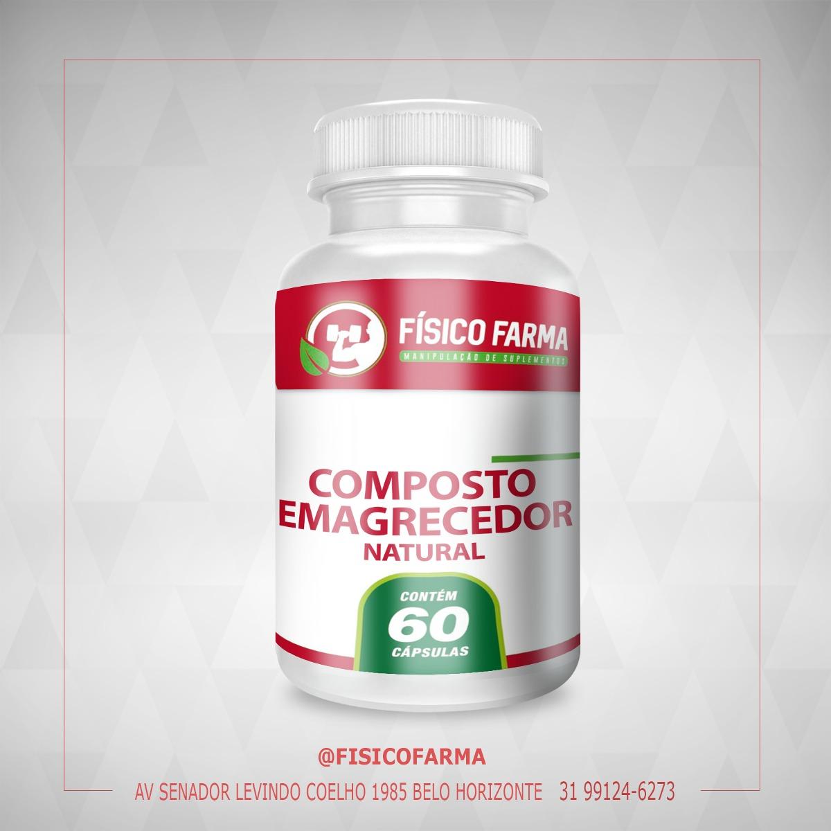 Composto Emagrecedor Natural - 60 cápsulas