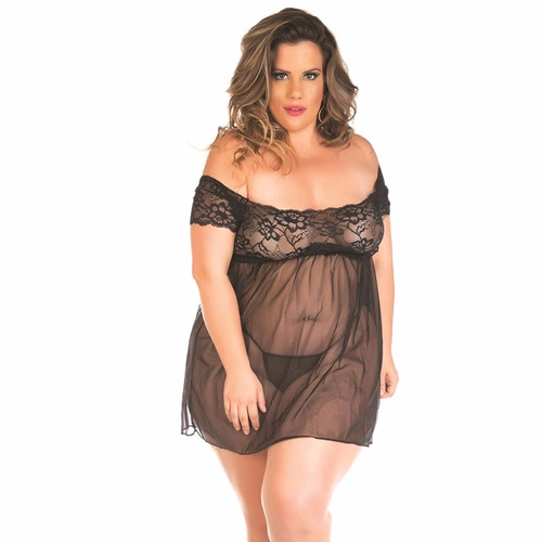 Camisola Gabriela Plus Size