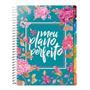 Agenda Planner Meu Plano Perfeito Capa Flores Planejamento