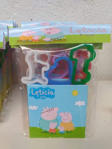 10  Kit Massinha Peppa Pig 2 Original
