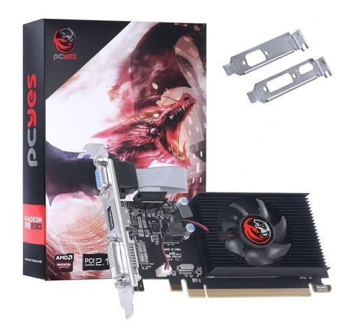 Placa De Video Radeon R5 230 2gb Ddr3 64bits C/ Low Profile Original