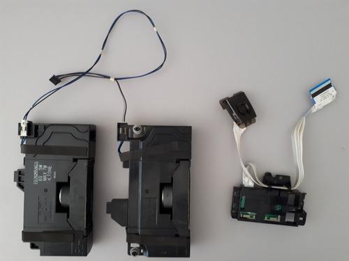 Par Alto + Botão Power Falante Tv LG 43lj5550 Original