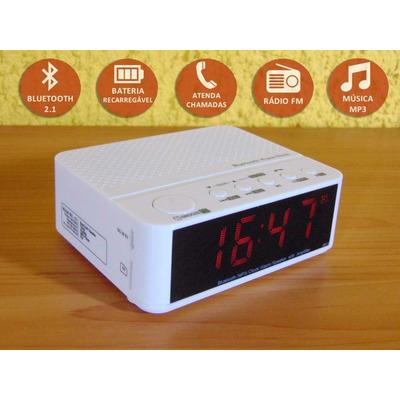 36974b3de72 Chega de perder a hora para os seus compromissos. Com O rádio relógio mais  moderno e potente que tem no mercado livre. Compre o seu e veja que beleza!!