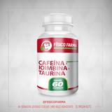Cafeína 210mg + Ioimbina 5mg + Taurina 200mg - 60 Cápsulas (cafeina)