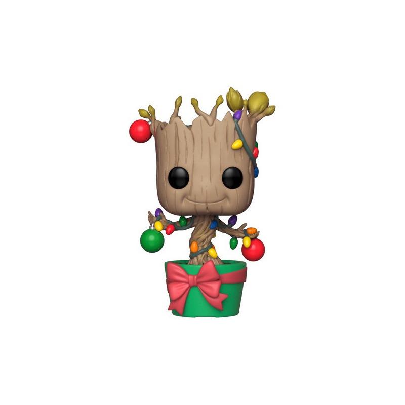 Holiday Groot Pop Funko #399 - Guardiões da Galáxia - Marvel