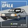 Farol Caravan Opala Diplomata 88 89 92 Arteb