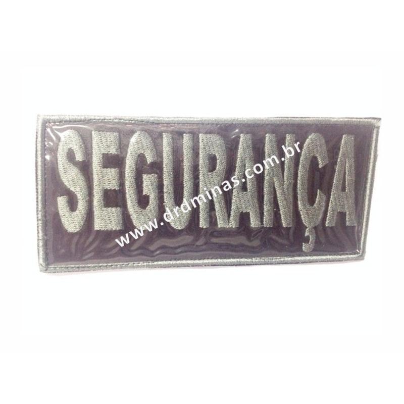 Etiqueta Bordada Segurança - CZ - 9 x 18