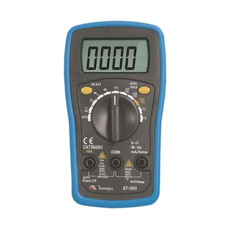 Multímetro Minipa Digital 3/34 D Auto Range