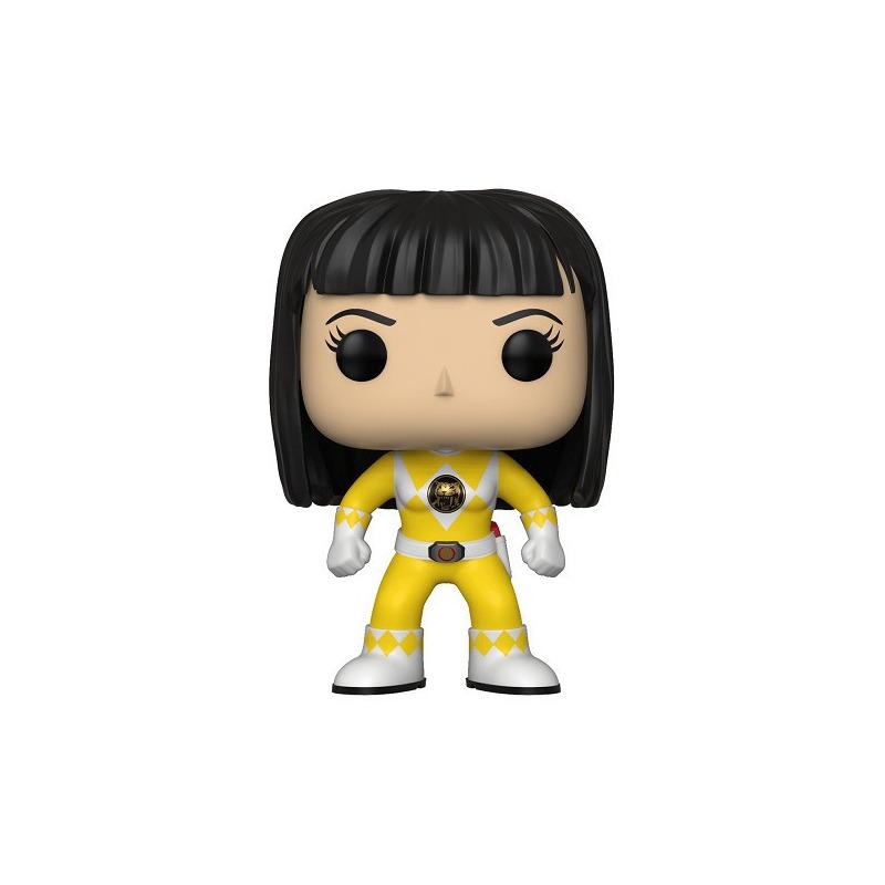 Yellow Ranger Pop Funko #674 - Trini No Helmet - Power Rangers