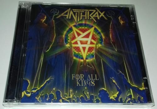 Anthrax - For All Kings (cd Duplo) Lacrado Original