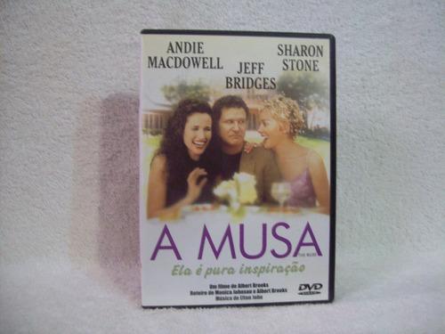 Dvd  A Musa- Com Sharon Stone Original