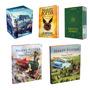 Harry Potter 13 Livros Box Criança Hogwarts Ilustrados